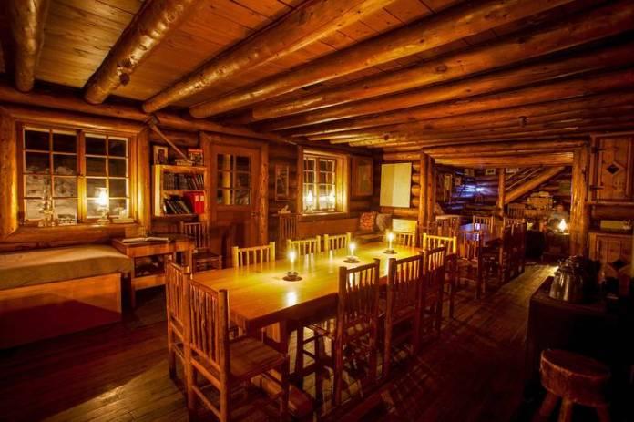Banff's Skoki Lodge.