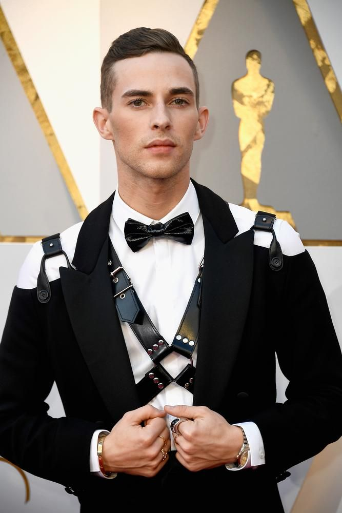 At last year's Oscars, figure skater Adam Rippon became the first star to wear a harness-inspired suit on the red carpet.