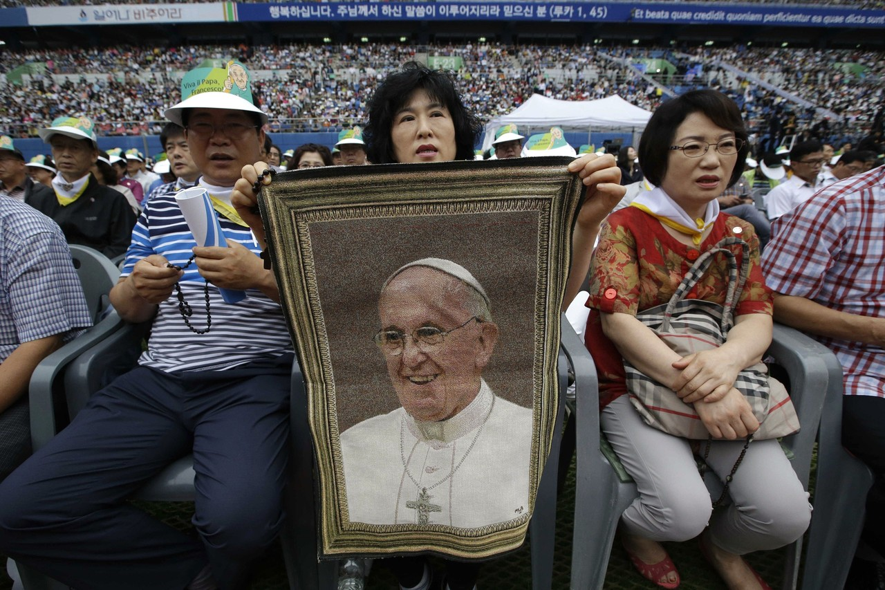 Dangjin-si South Korea  city photos : ... not hypocrites — With Best Images from Pope's Visit in South Korea
