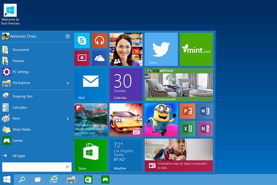 Windows 10 (First Peek)