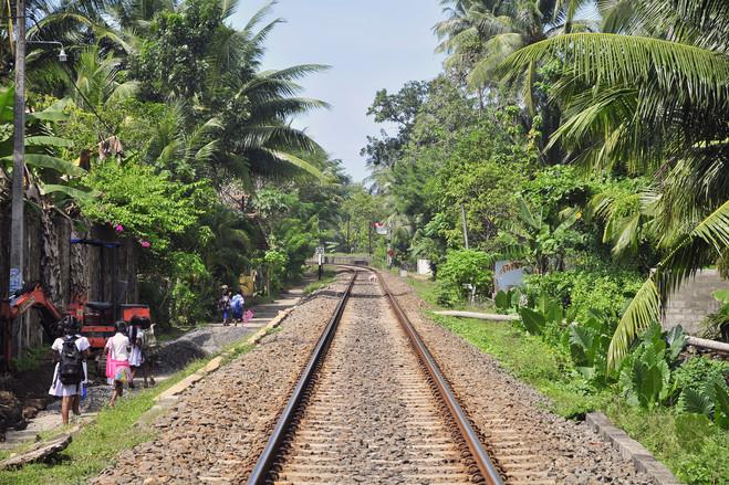 Peraliya November 2014<br>  Today, the train tracks are fully rebuilt around Peraliya.
