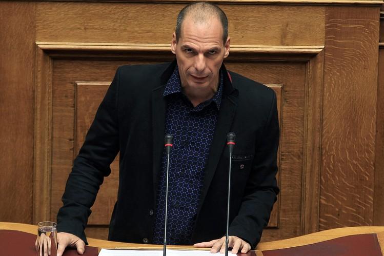 Finance Minister Yanis Varoufakis.