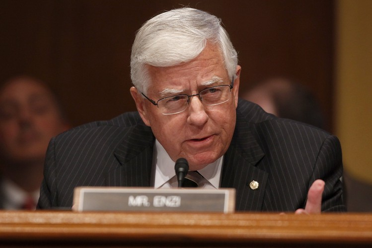 Senate Budget Chairman Mike Enzi (R., Wyo.)