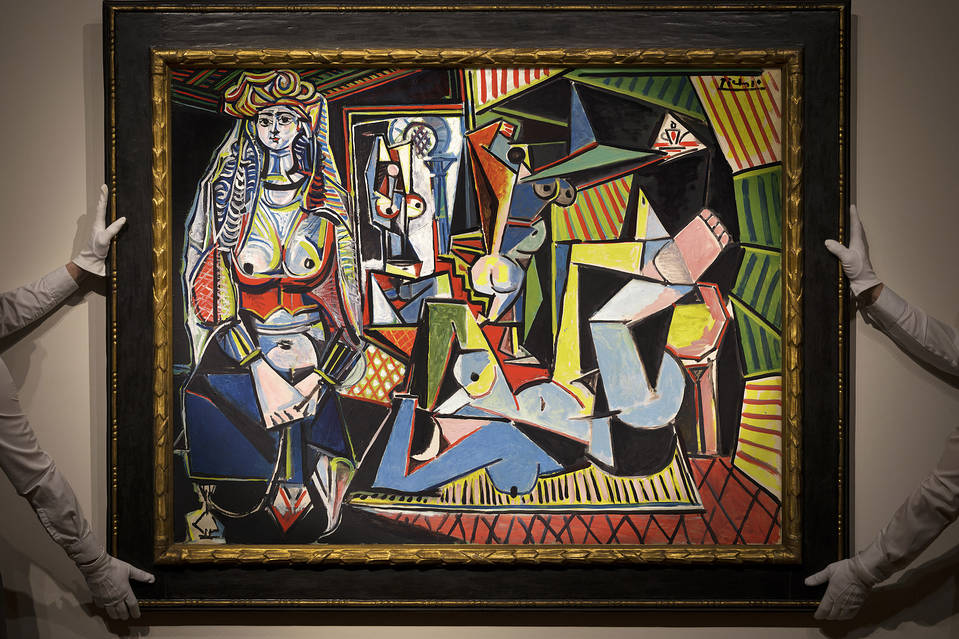 Pablo Picasso's Women of Algiers, uncensored version, at the auction