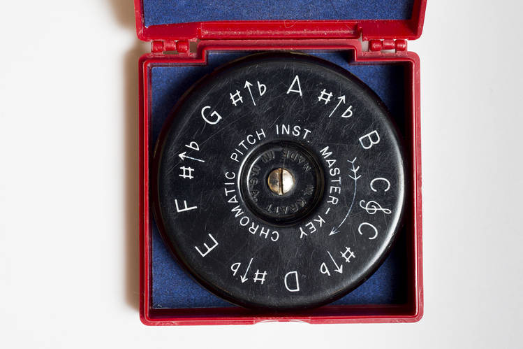 Dr. Nadeau's pitch pipe.