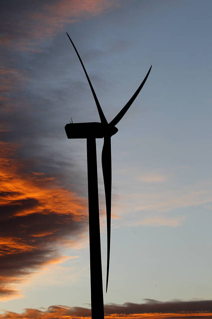 Wind turbines at a wind farm near Kilkis, Greece, on Jan. 3, 2015.