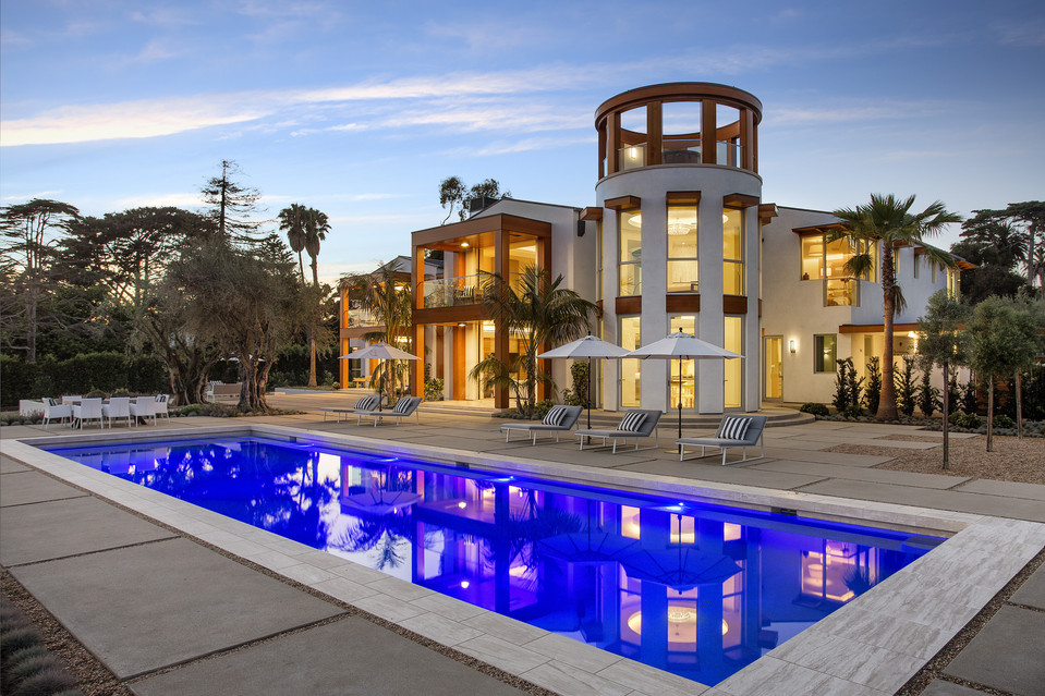 A newly built, fully automated California home is listing for $35 million.