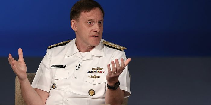 National Security Agency director Adm. Michael Rogers, shown here in May, said the recent attack on the Pentagon Joint Staff's unclassified network used maneuvers he hadn't seen before.