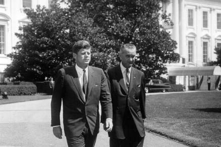 Image result for photos of john kennedy and lyndon Johnson