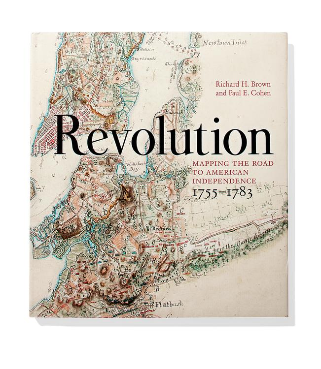 A Cartographic View of the American Revolution   WSJ  Revolution  Mapping the Road to American Independence 1755   1783
