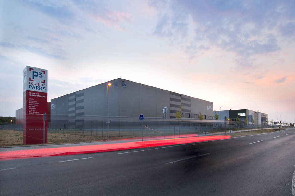 This 3.6-million square foot industrial park in Prague is owned by TPG through its P3 Logistic Parks pan-European industrial platform.