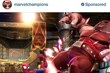 Mobile Game Companies Are Starting to Run Ads on Instagram   WSJ A Kabam game ad on Instagram
