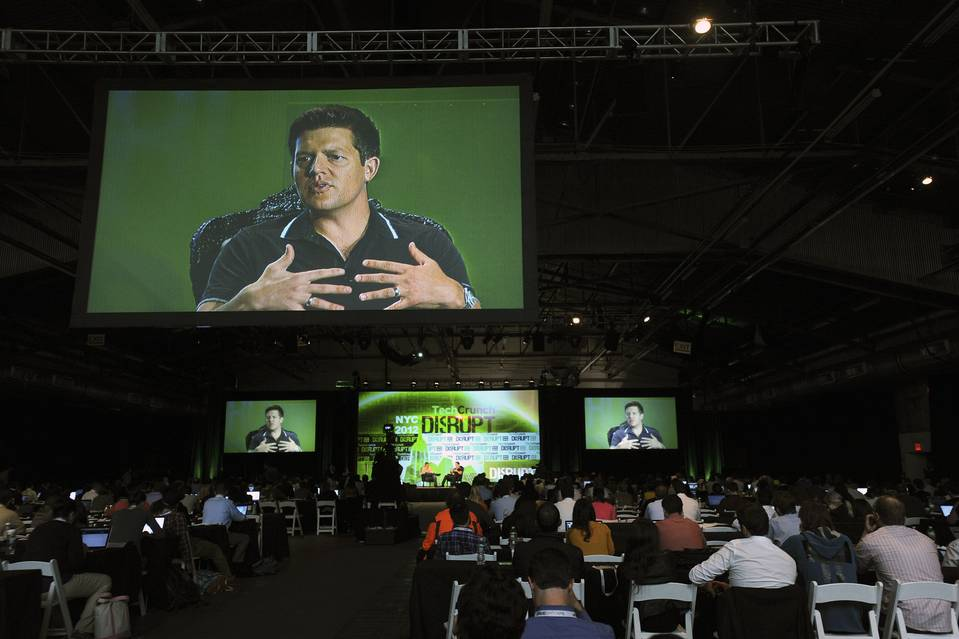 Roelof Botha, a Sequoia Capital partner, at TechCrunch Disrupt in New York in 2012. He says Sequoia's scouts program helps the venture-capital firm 'become distinctive in the mind of an entrepreneur.'