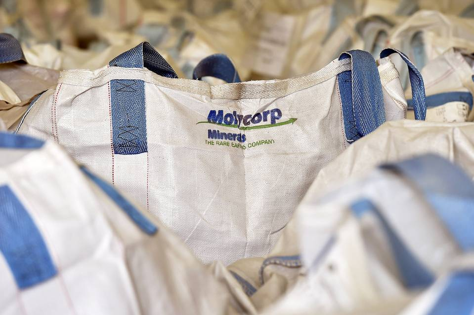 Molycorp filed for chapter 11 bankruptcy protection in June.