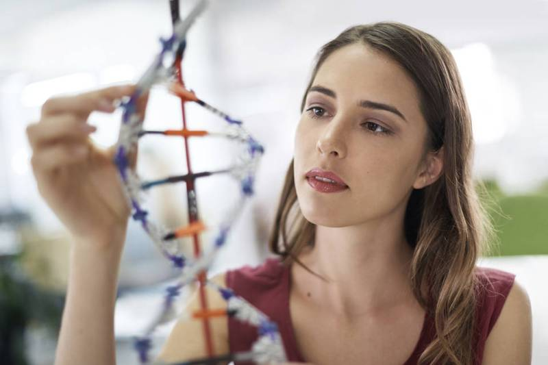 DNA, and the building blocks of life.