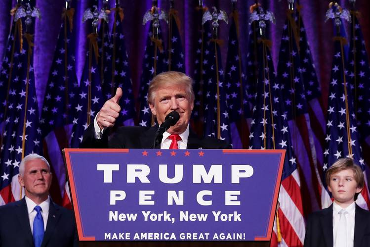 Image result for trump victory speech