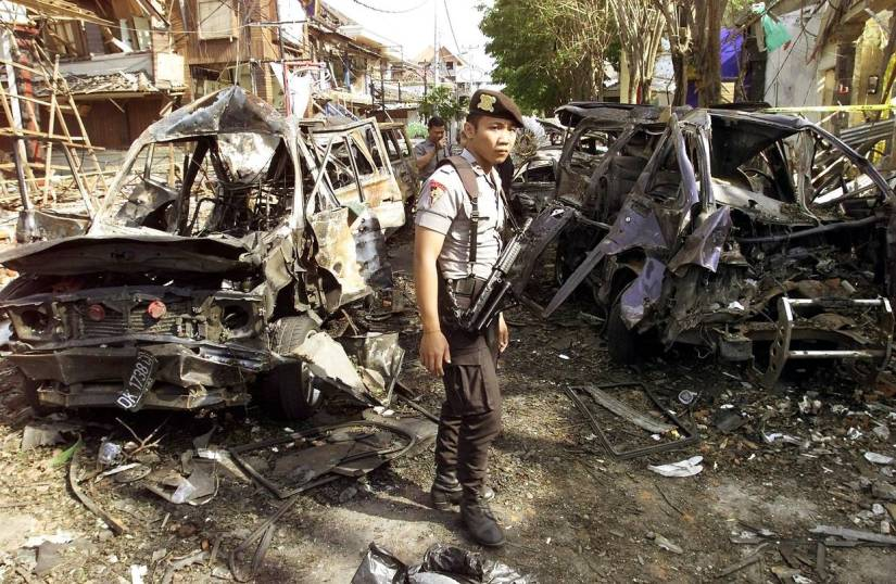 Image result for bombing in indonesia