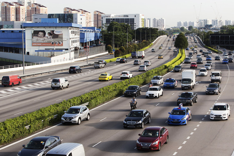 Singapore's Central Expressway.