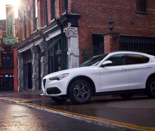 Alfa Romeos New Stelvio A Crossover  Years In The Making Gives Great Face But How Does It Drive Dan Neil Takes It For A Spin