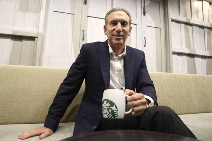 Howard Schultz of Starbucks grew up in a housing project.