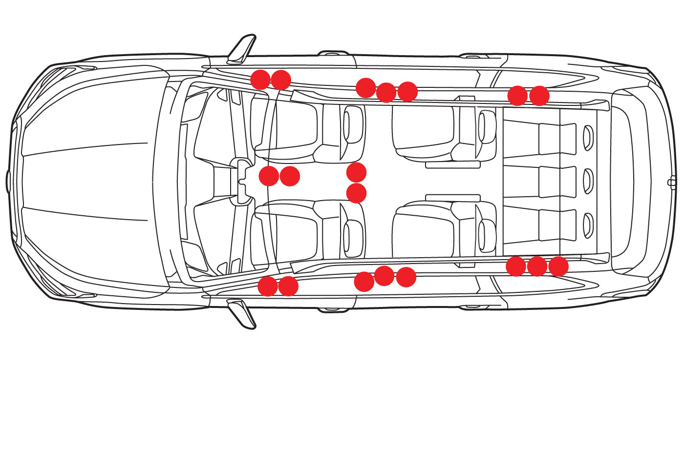 The Subaru Ascent Will Have 19 Cup Holders