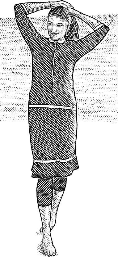 An Aqua Modesta suit