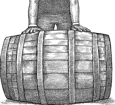 Scotch barrel