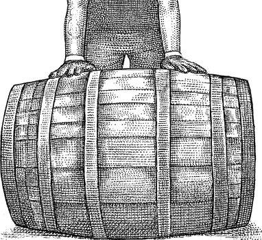 Scotch barrel