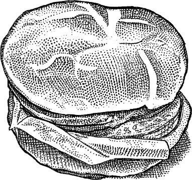'Beyond Meat' burger.