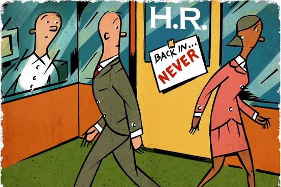 Image result for no HR jobs cartoon