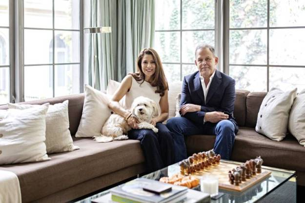 Javier Saralegui and his wife, Angela Bedoya, recently lowered the price of their Upper East Side townhouse at 10 East 92nd St to $11.995 million.