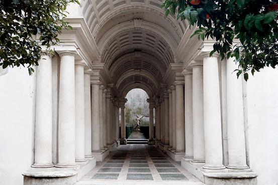 Rome S Borromini Arcade Wsj