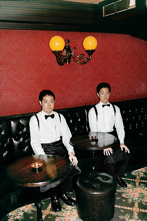 COCKTAIL HOUR | Trainees Yoshinori Tanaka and Tatsuya Yoshida at Tokyo's Star Bar