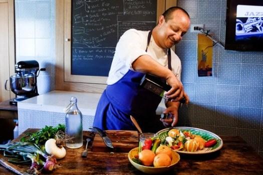 Island Time Ciccio Sultano In The Kitchen Of His Home Ragusa Ibla Sicily