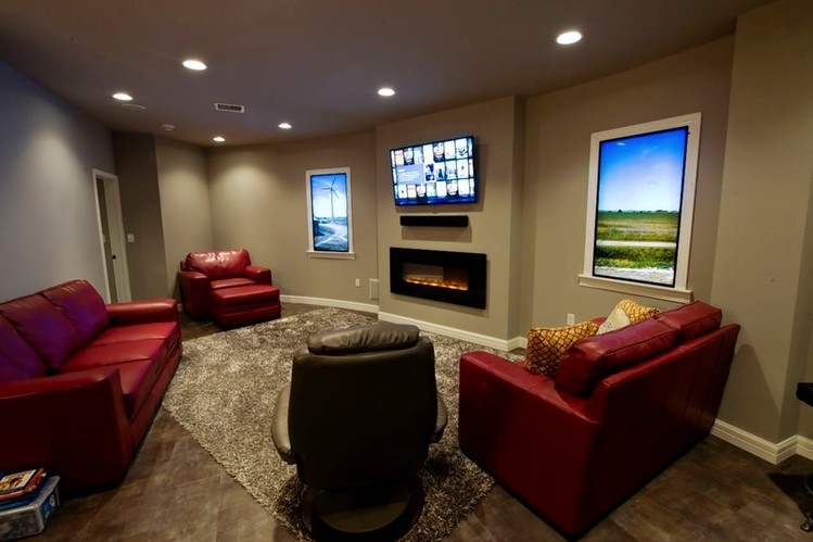Security Condo owners have personalized their units by adding fireplaces and belongings.