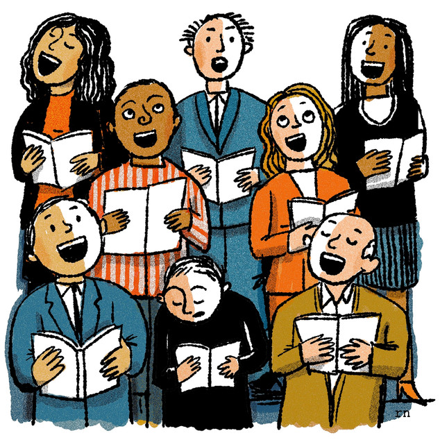 Join a choral group where you can gain confidence singing alongside more-experienced voices.