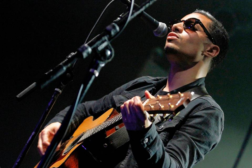 José James performs in New York in 2014.