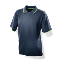 Festool Polo Shirt Blue Polo Shirt