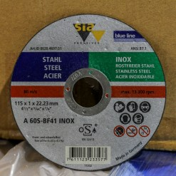 SIA CUTTING DISC 1.0MM X 115MM