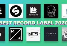 all record label logs