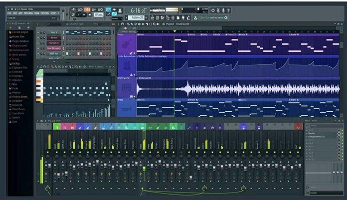 FL studio welcome screen
