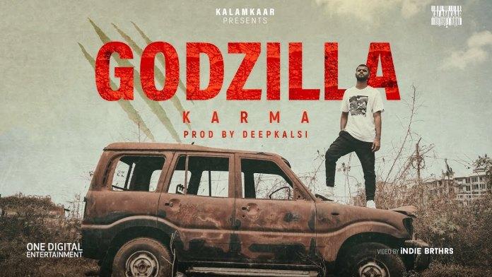 Rapper KARMA Has Return With New Hip-Hop Track 'GODZILLA'