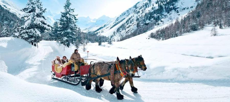 أجمل مدن سويسرا في الشتاء