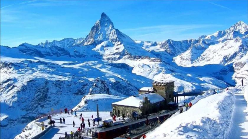 زيرمات أجمل مدن سويسرا في الشتاء