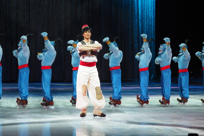 Aladdin og Genie - Disney On Ice