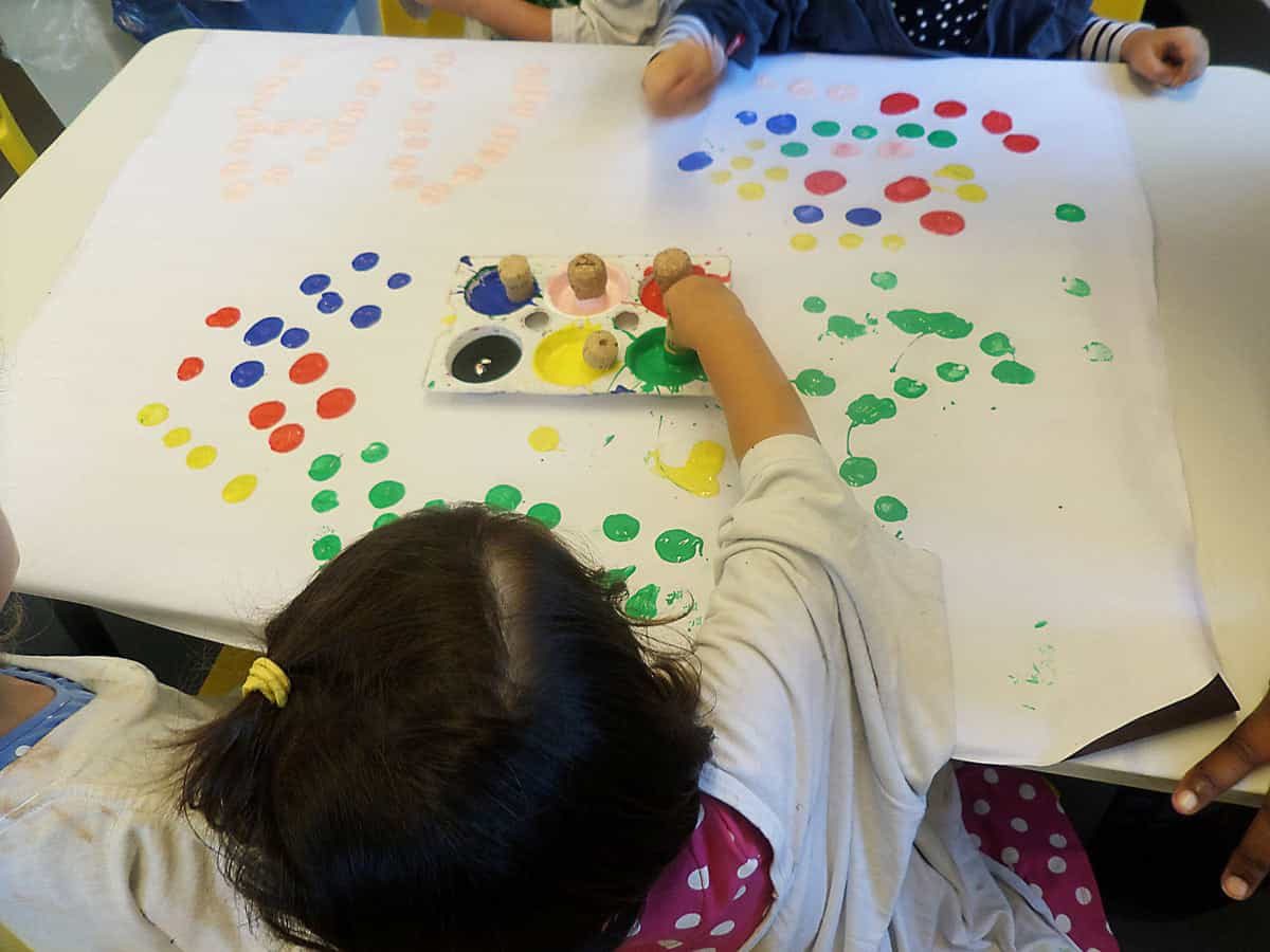 International Dot Day creations of students