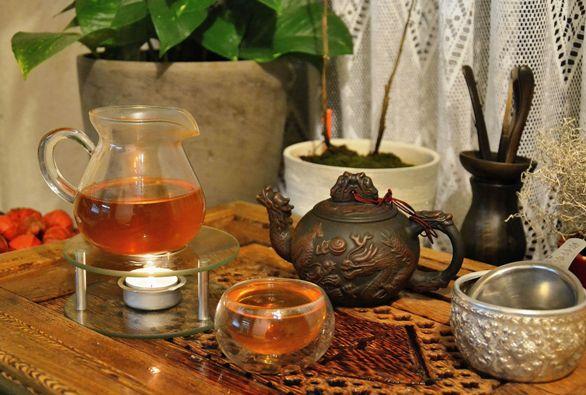 """ShanTee - """"sheng"""" Pu erh Tee von wilden Teebäumen in Nordthailand"""