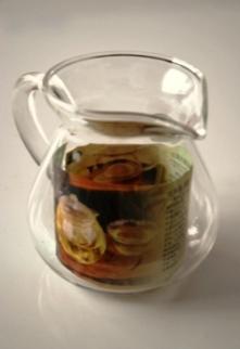 Glaskanne für die Teezubereitung / Teezeremonie, 300ml