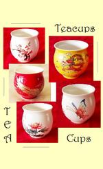 Tee-Becher/ Teegläser