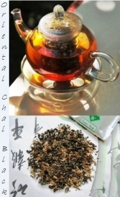"""Oriental Chai"" flavored Thai Black Tea Blend"